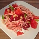 Wurstsalat - Das Ergebnis