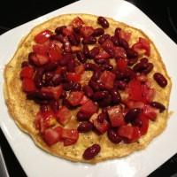 Omelett Bruschetta