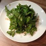 Thunfisch-Steak auf Rucola-Salat