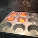 Eier Muffins mit Bacon