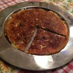 Omelett mit Zucchini - Das Ergebnis