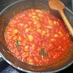 Weisse Bohnen in Tomatesauce