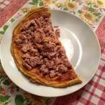 Omelett mit Thunfisch