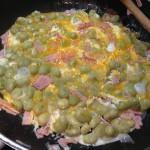 Weisse Bohnen mit Ei