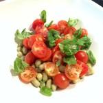 Insalata di Fave e Pomodorini