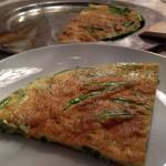 Omelett mit Prinzess-Bohnen