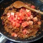 """Gefüllte Tomaten """"Chili con carne"""""""