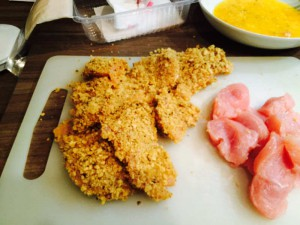 Body Change Chicken-Nuggets - Schritt 4