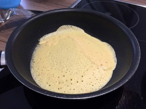 LowCarb-Pfannkuchen - Schritt 3