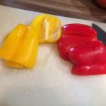 Paprika-Frikadellen - Schritt 1