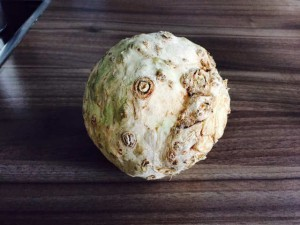 Sellerie-Bratkartoffeln - Schritt 1