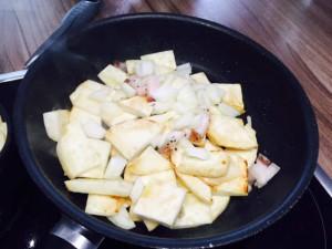 Sellerie-Bratkartoffeln - Schritt 5