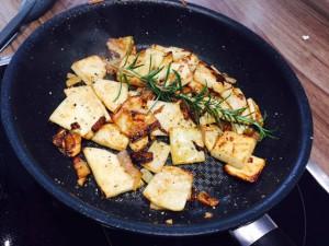 Sellerie-Bratkartoffeln - Schritt 7